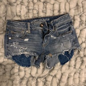 American Eagle Shortie Shorts - Size 0